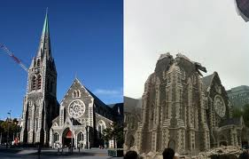 Earthquake damage to Christchurch Cathedral